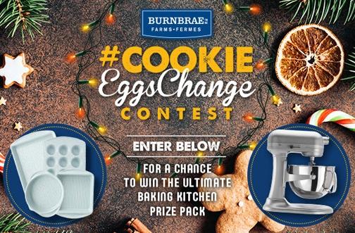 Burnbrae Farms Cookie EggsChange Contest