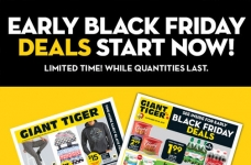 Giant Tiger Early Black Friday Flyer