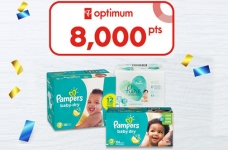 PC Optimum Flash Offer Pampers Diapers