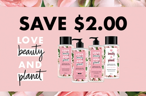 High Value Love Beauty & Planet Coupon