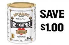 McCann's Irish Oatmeal Coupon