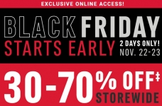 Mark's Black Friday Starts Early – Up to 70% Off