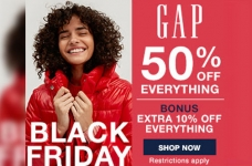 GAP Black Friday Sale 2020