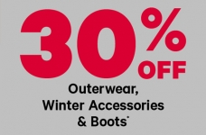 Joe Fresh 30% off Winter Outerwear