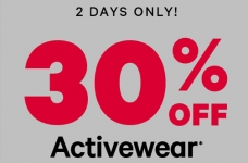 Save 30% off Joe Fresh Activewear