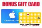 Apple Gift Card Giant Tiger Bonus Offer