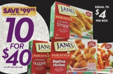 Get 10 Boxes of Janes for $40