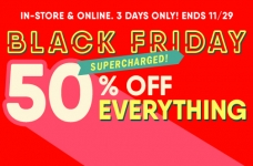 Old Navy Save 50% Off Everything for Black Friday