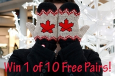 Win A Pair of Hudson's Bay Red Mittens