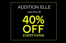 Save 40% Off Everything at AdditionElle for Black Friday