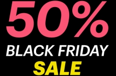 Ardene 50% Off Black Friday Sale