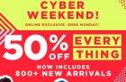 Old Navy Cyber Weekend Sale