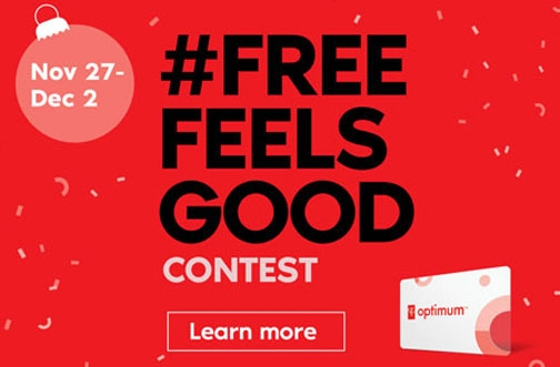 Shoppers Drug Mart Contest |  Free Feels Good Conest