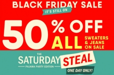 Save Up to 50% at Old Navy + One Day Deals