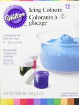 Wilton 12 Colour Gel Set