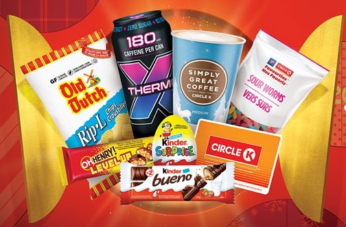 Circle K Contests | 31 Days of Circle K + Netflix & Chill'd Contest + Drink. Snack. Score.