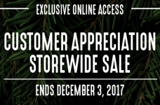 Mark's Customer Appreciation Sale