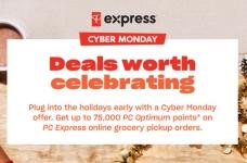 PC Express Cyber Monday PC Optimum Bonus Offer