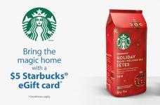 Walmart Starbucks eGift Card Offer