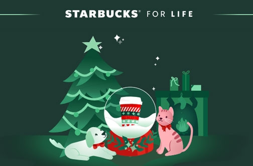 Starbucks For Life Contest