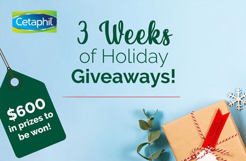 Cetaphil Contest Canada | Holiday Giveaway