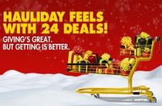 No Frills Hauliday Feels with 24 Deals