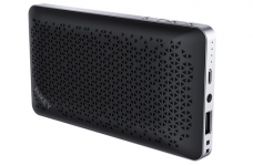 AUKEY Portable Bluetooth Speaker with Power Bank Function for iPhone, Samsung Phones, and More