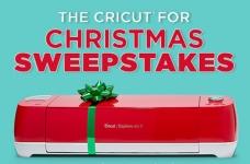 The Cricut for Christmas Sweepstakes