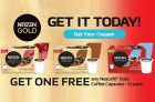 Get a FREE Nescafe Gold K-Cups 12 Pack