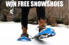 Win A Pair of Snowshoes from Canadian Tire