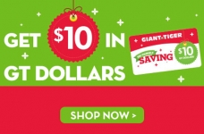 Earn GT Dollars at Giant Tiger
