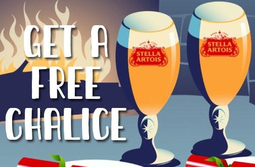 Free Stella Artois Chalices