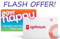 PC Optimum Flash Offer Happy Brand Gift Cards