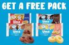 Free Bimbo Umo Snack Cakes Coupon