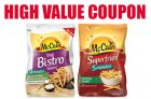 McCain Coupon Canada | Save on Superfries or Breakfast Patties