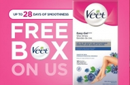 Free Veet Easy-Gel Wax Strips