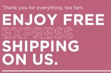 DAVIDsTEA Free Express Shipping