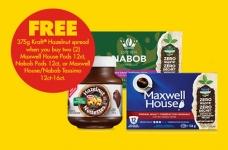 B2G1 Free Maxwell House, Nabob & Kraft Coupon