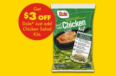 Dole Just Add Chicken Salad Kit Coupon