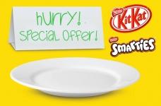 No Frills KIT KAT & SMARTIES Special Offer