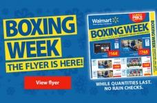 Walmart Boxing Week Flyer