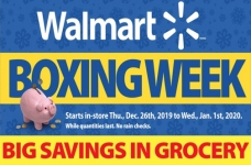 Walmart 2019 Boxing Week Flyer