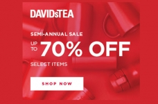 DAVIDsTEA Semi-Annual Sale