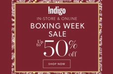Indigo Boxing Week Sale