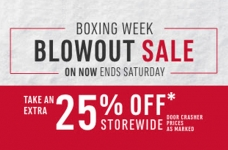 Mark's Boxing Week Blowout Sale