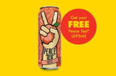 Free Peace Tea Coupon from No Frills