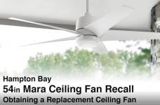 RECALL: Hampton Bay Mara Ceiling Fan