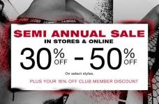 La Senza Deals & Coupons | Semi-Annual Sale + 25% Off + 3/$21 Panties