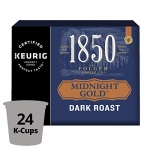 1850 Midnight Gold K-Cup Coffee Pods 24 Count