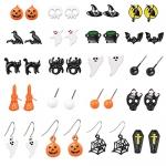 20 Pairs Halloween Earrings